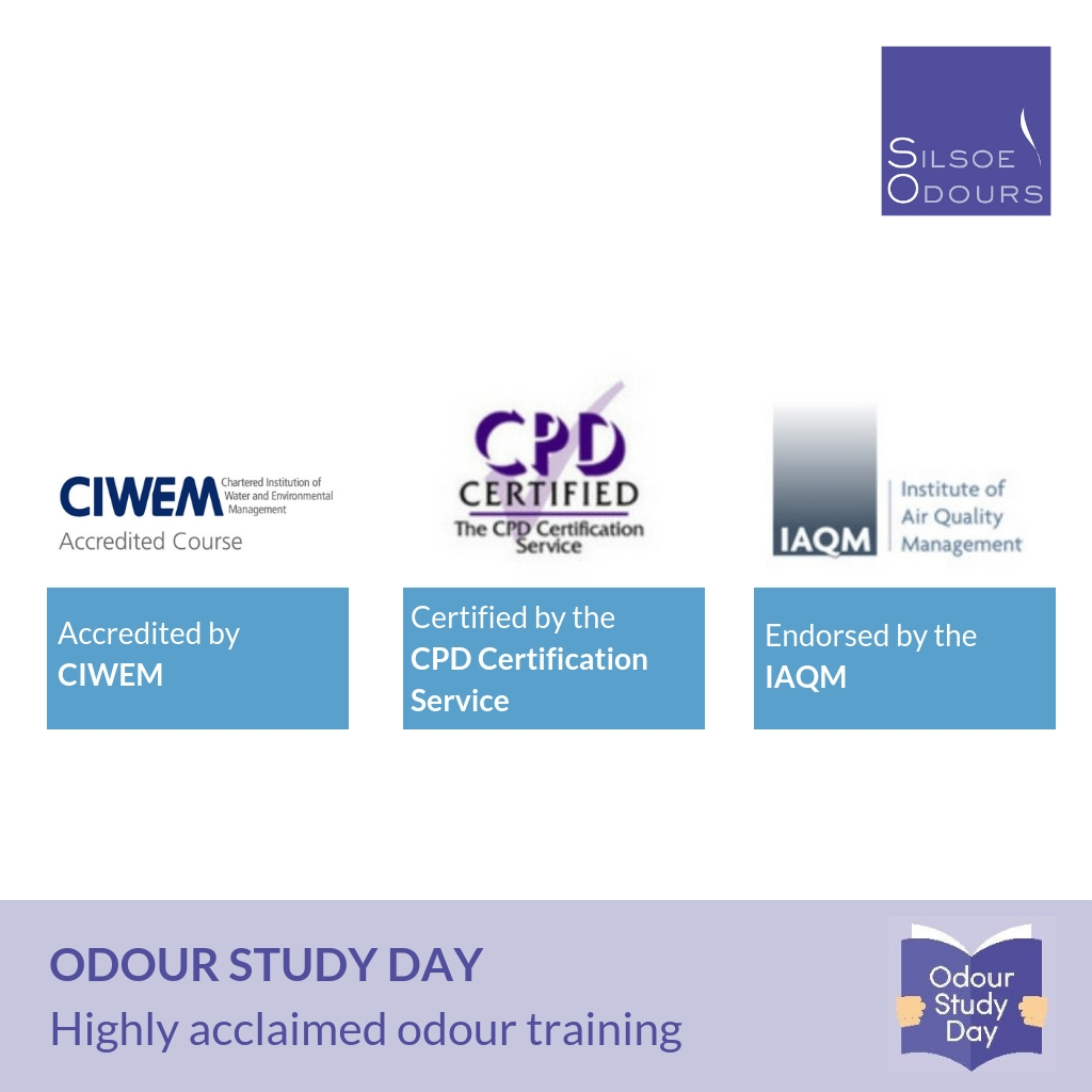Highly acclaimed odour management services training, the Odour Study Day