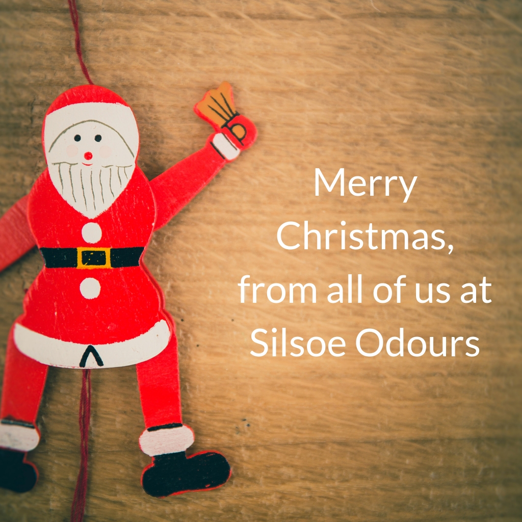 Merry Christmas, from all of us at Silsoe Odours