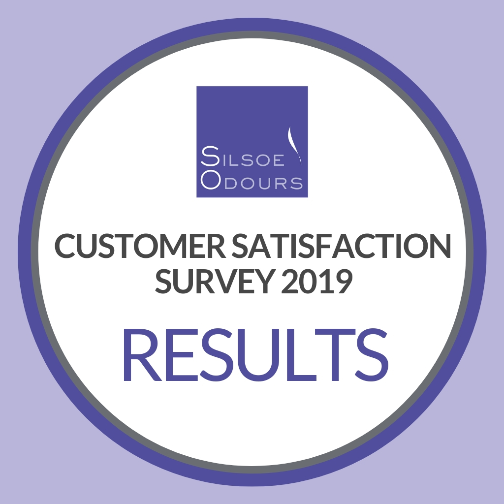 Results announced for Silsoe Odour's customer satisfaction survey 2019, measuring customer feedback about their range of odour services