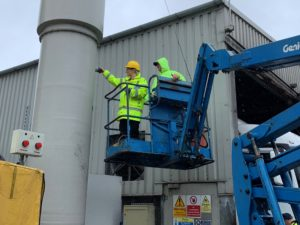 rendering plant odour ASSESSORS ON SITE