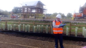 odour assessors on building site