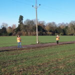 Regular monitoring of the site is best practice and may form part of your environmental permit