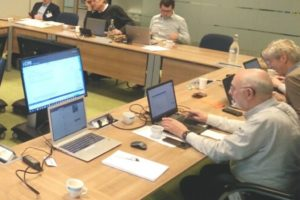 A CEN WG2 meeting about EN13725 in Delft, January 2020