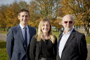 Robert, James & Victoria Sneath lead the team at Silsoe Odours
