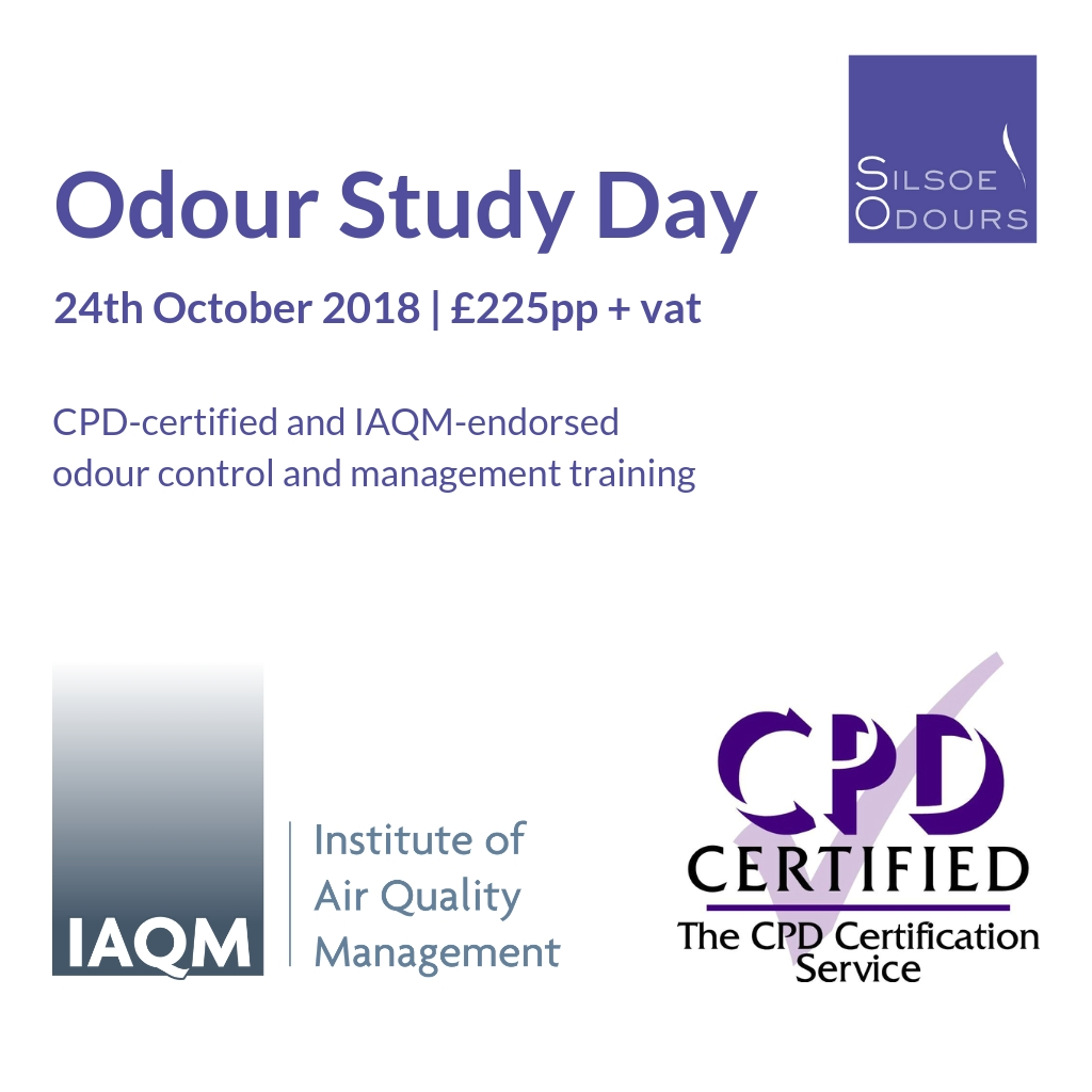 Iaqm Cpd Endorsed Odour Control Training Odour Study Day