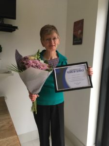 Congratulations to Jill! She is celebrating 20 years with Silsoe Odours, looking after the detailed criteria of odour assessment